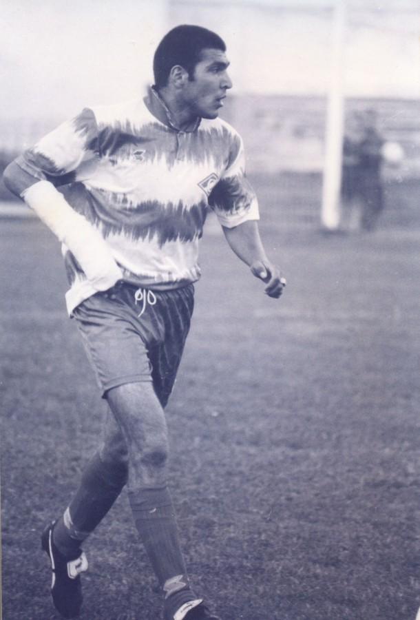 Альберт Саркисян с переломанной рукой