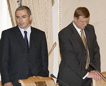 Журналист Ходорковский и писатель Чубайс