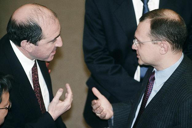 Березовский и Кириенко