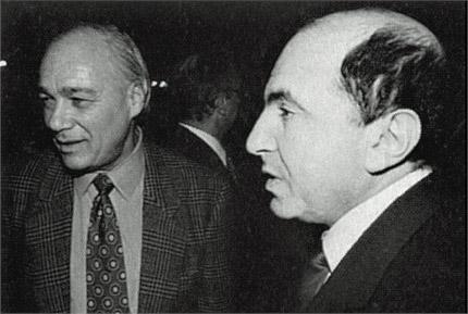 Березовский и Познер