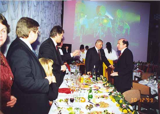 Березовский и Ющенко