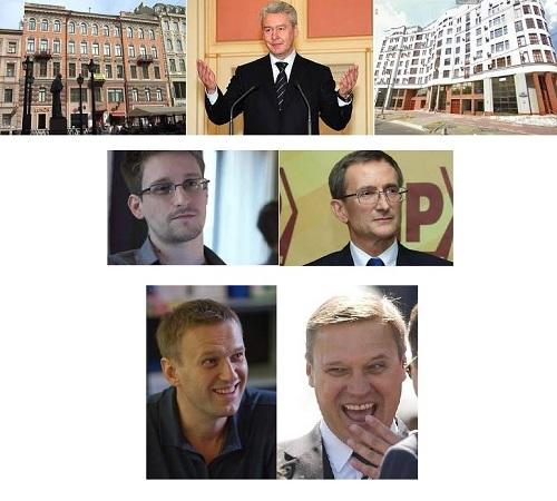 Собянин с кандидатами!!!!!!!!!!!!!!!