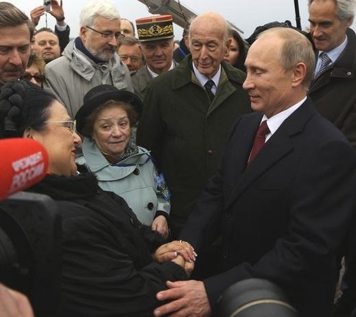 Путин и Романова 2