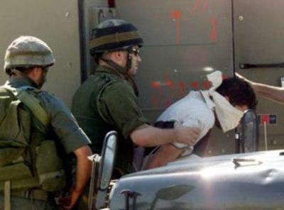 жесткое задержание израиль