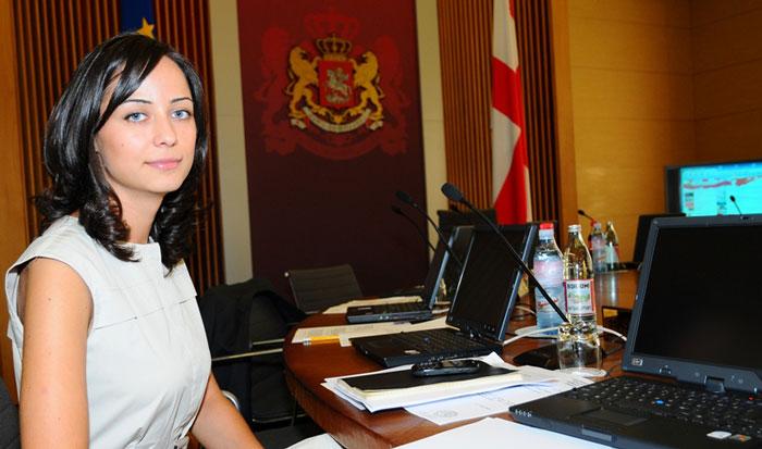 Вера Кобалия 29 лет Министр экономики Грузии