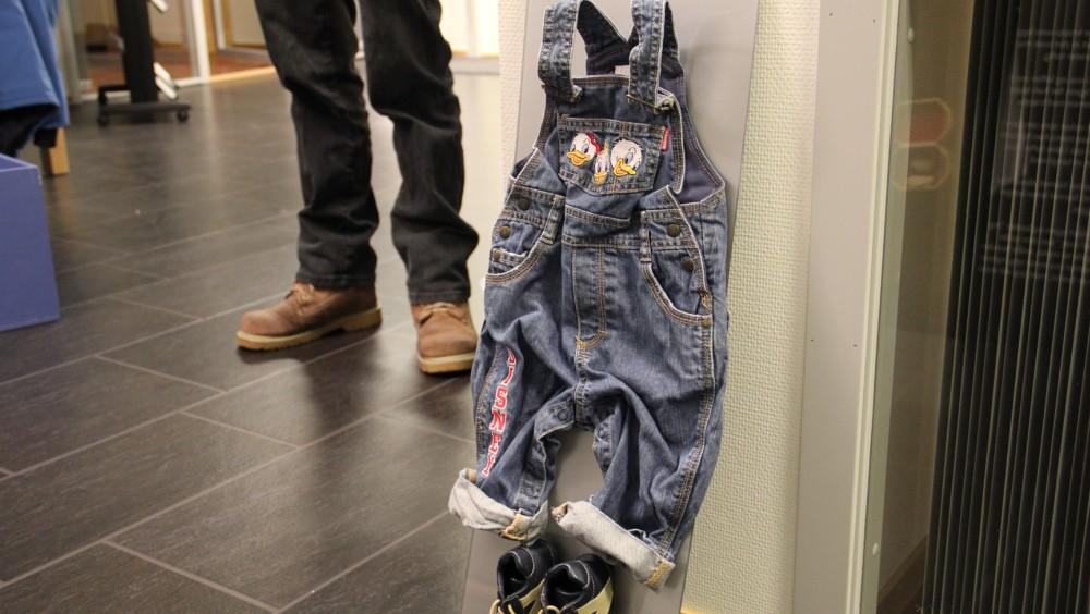 джинсы ребенка