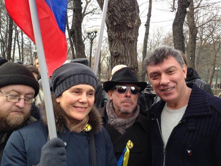 Немцов, Прохорова, Макаревич и оставных
