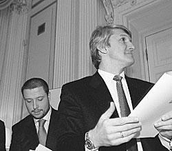 Илья Юров и Платон Лебедев
