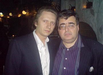 Александр Деревщиков и Алексей Митрофанов. Оказались рядом случайно