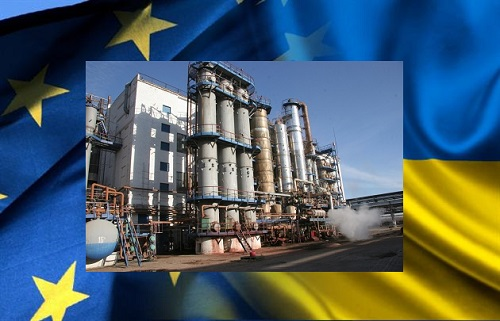 Украинский майдан пахнет российским аммиаком