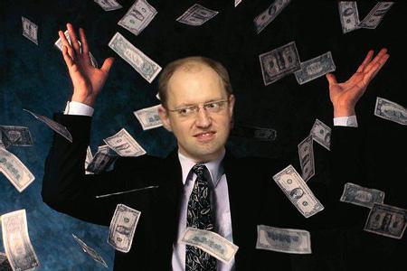 Яценюк-деньги