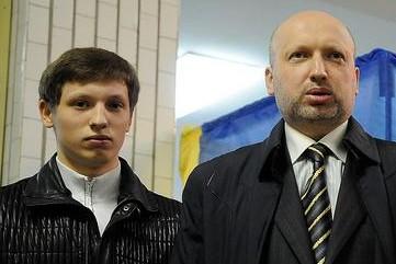 Кирилл Турчинов с папой