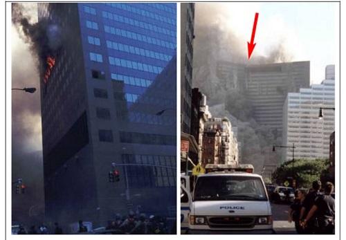 ВТЦ 7 маленький пожар и уничтожение всего здания222222222222222