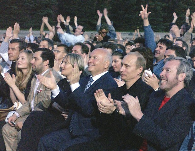 2 с Путиным и Лужковым