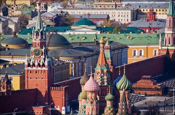 Звезда 10 вид на кремль