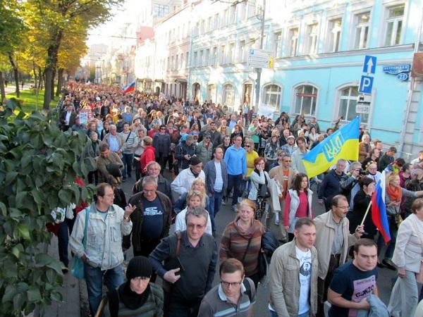 марш мира плотность 3