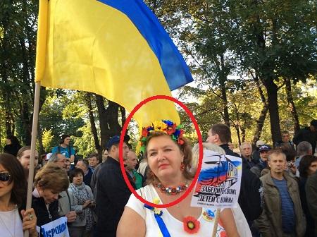 васильева на марше мира 2  222222222222222222