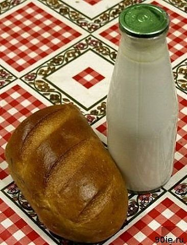 завтрак советского инженера