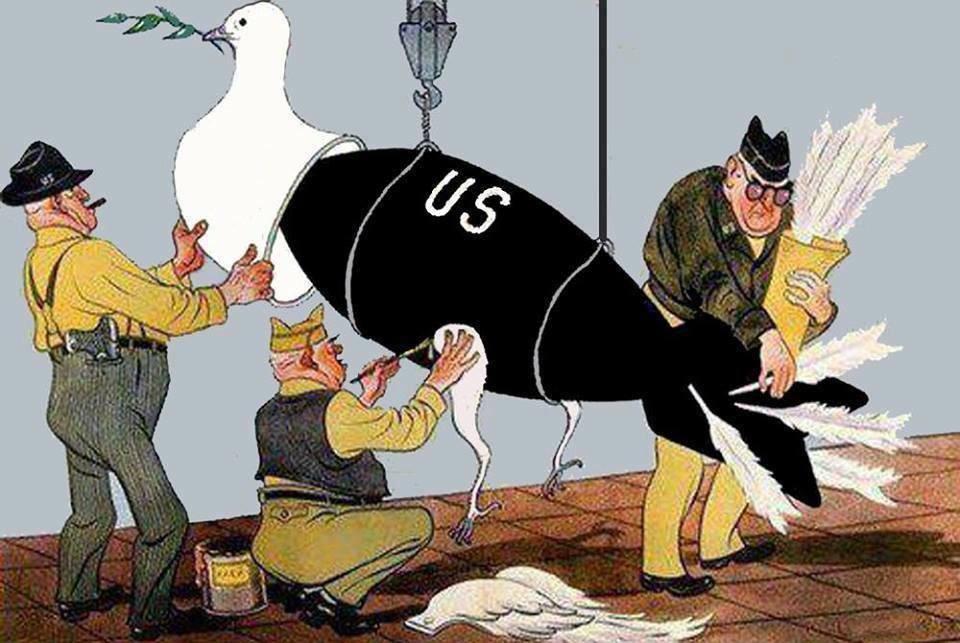 Как американская пропаганда работает на Россию