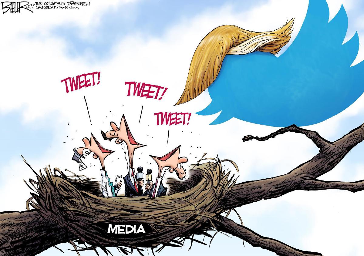 Мощь твиттера Трампа, британская многодетная семья и куда девать сахар
