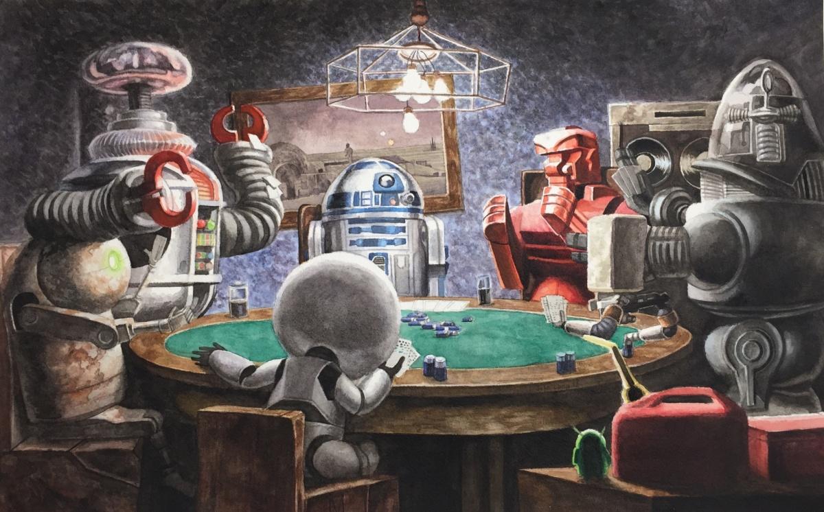 Робот-игрок в покер, автоматы по продаже наркотиков и оплата проезда по походке