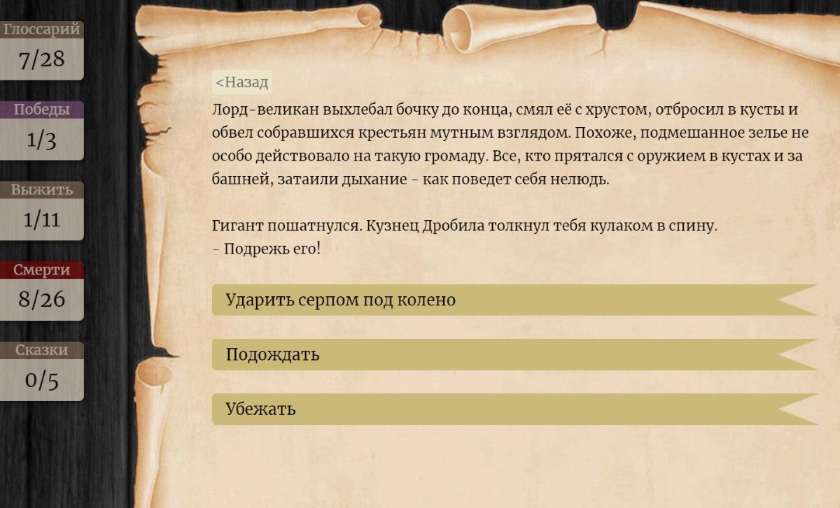 «Лорды Проклятых Земель» и другие текстовые игры