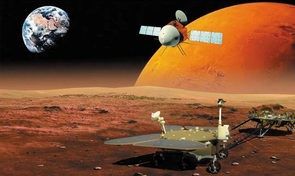 Китай догоняет США в космосе, совместное освоение Луны и утечка газа в