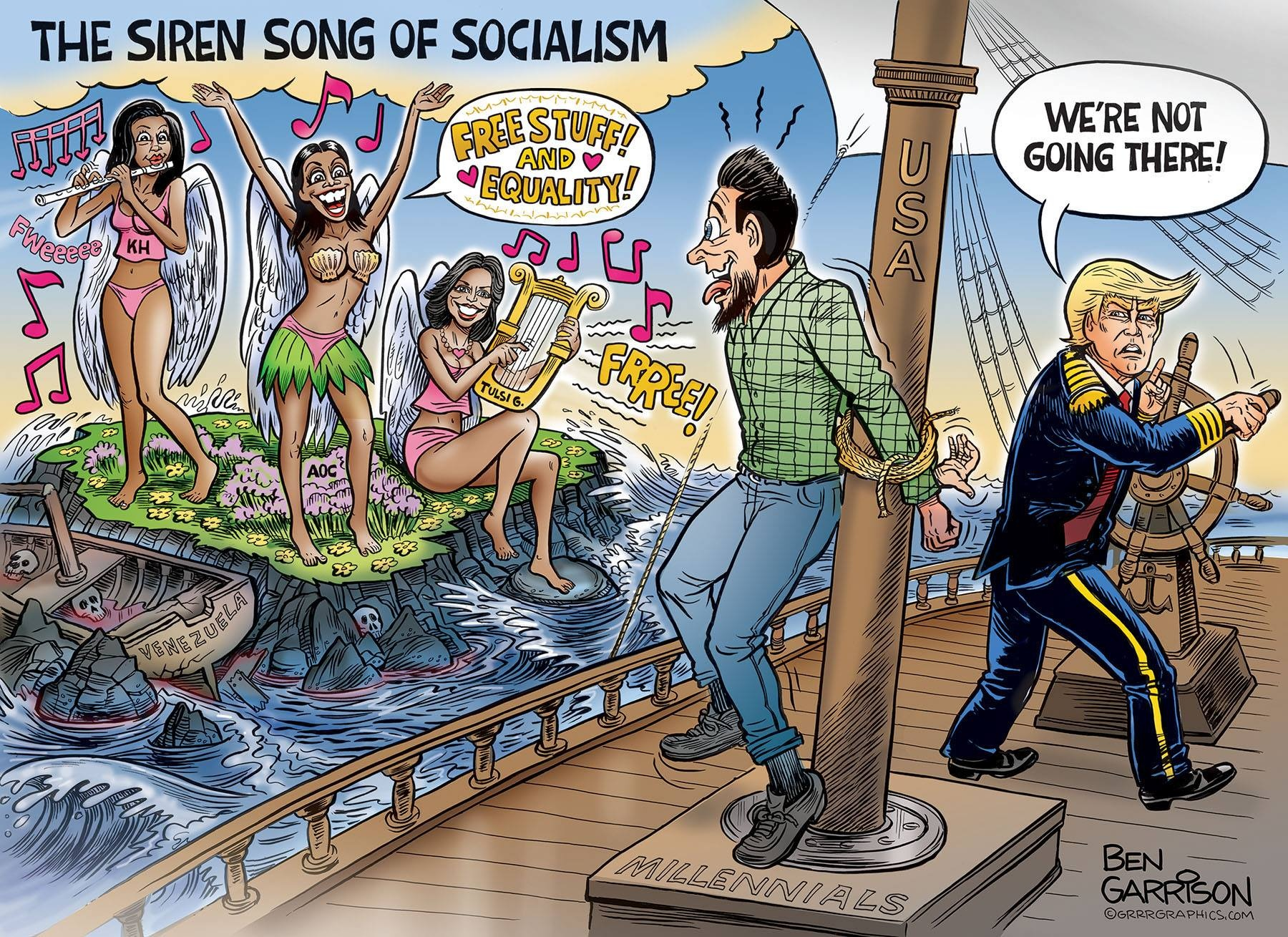 Социализм готовится уничтожить США