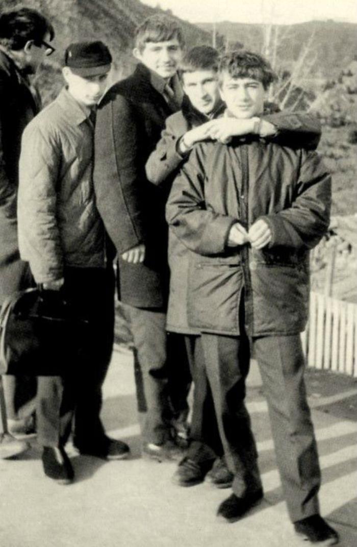 Друзья Путина (Ротенберг справа).