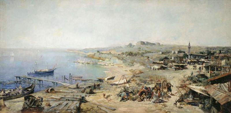 Крепость Хаджибей и её окрестность.