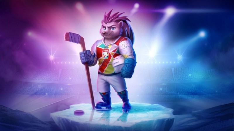 Йожик Спайки, талисман Чемпионата 2021.