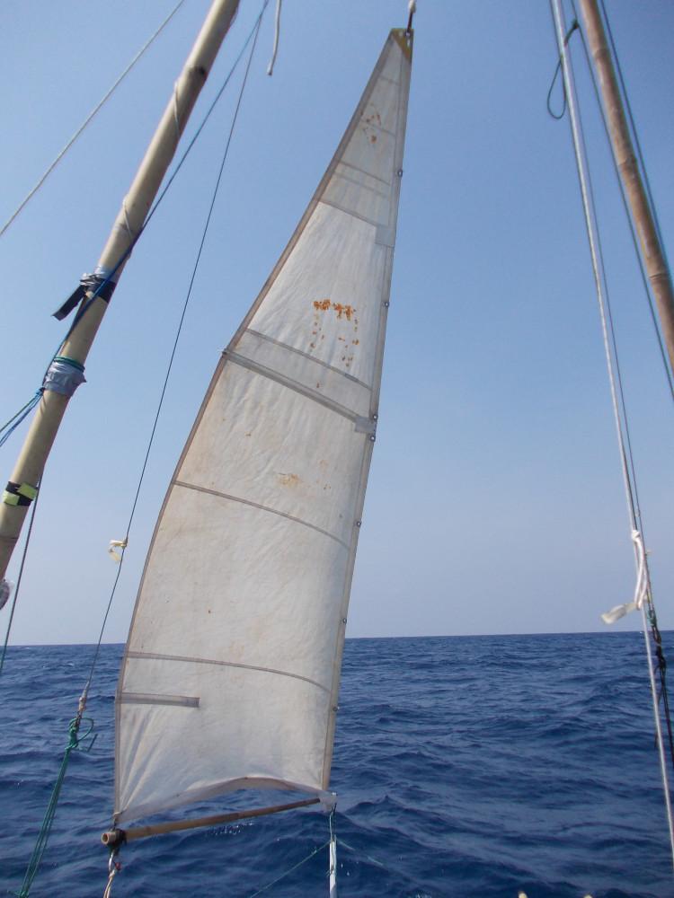 Одиночный переход через Андаманское море