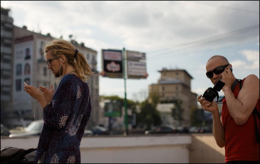 """""""Москва — город контрастов""""фото А. Олевского"""