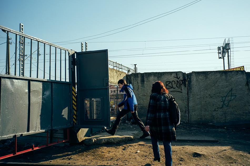 Пройти, фото А. Олевского