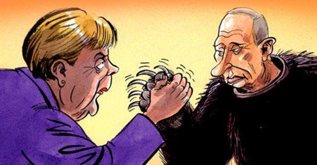 карикатура.Меркель.0