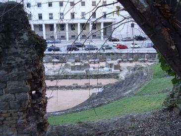 Вид из окна бывшего римского дома