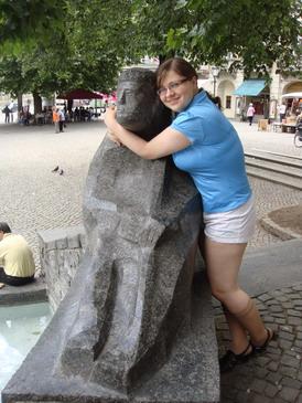 Водопой в МюнхенеПастухиКатя