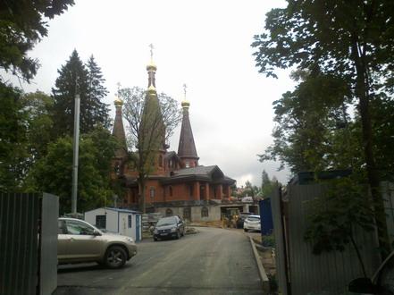 Церковь в Юкках. Авто1-3