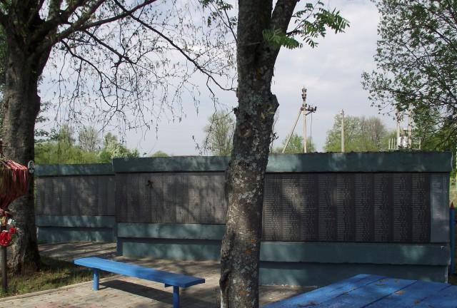 Мемориальный комплекс с крестом Людиново Эконом памятник Плечики Электрогорск