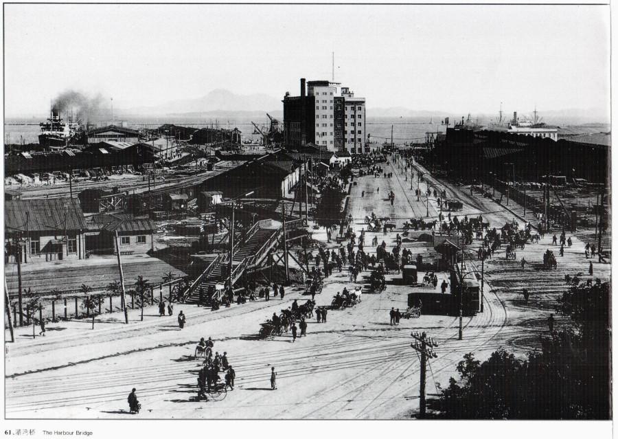 Dalian_Harbour_bridge_1922
