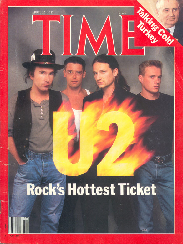 U2 Time cover