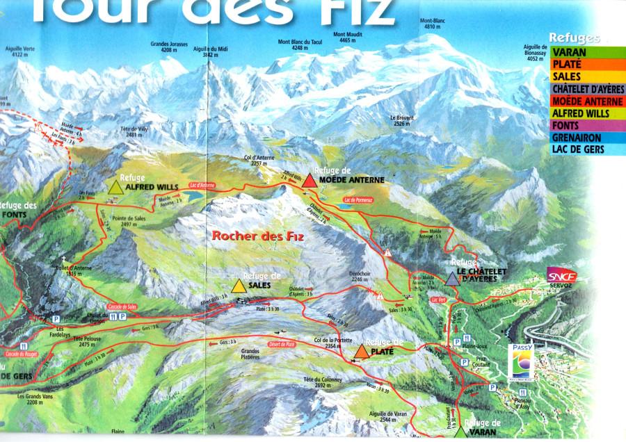 Тур де Физ, карта-схема поверн.