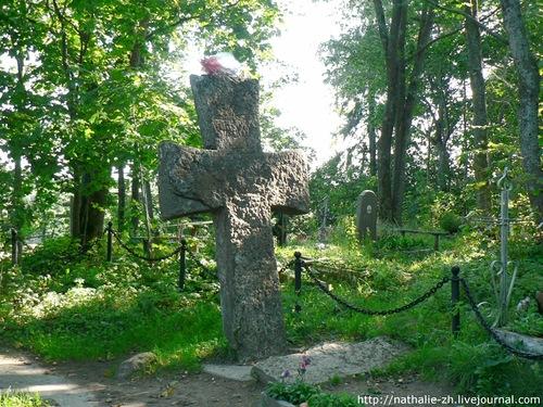 Труворов крест до реставрации