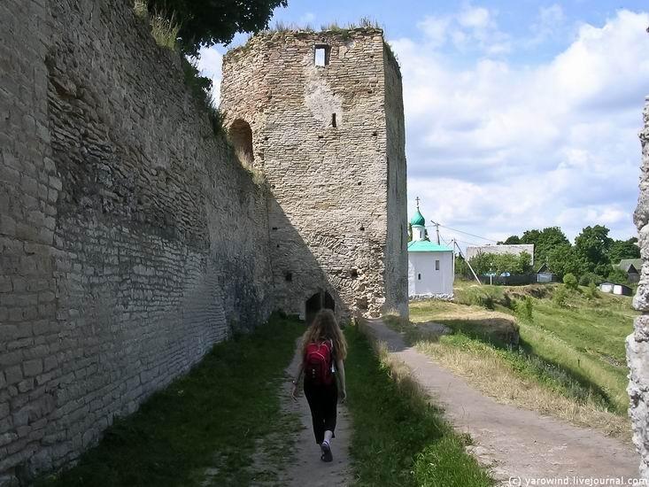 Вид на крепость до реставрации 05
