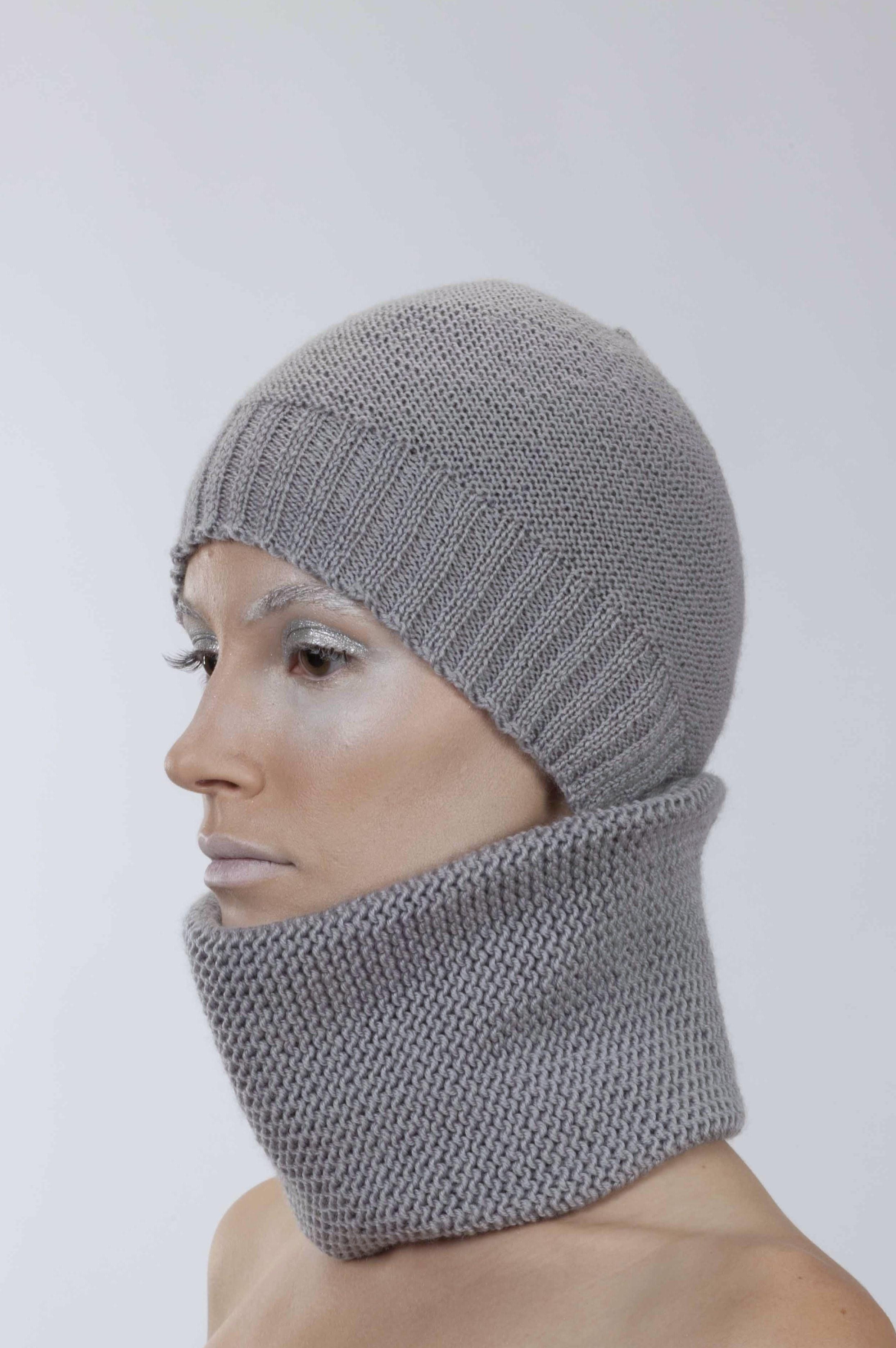 шапка-шарф большой