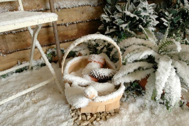 Как сделать декоративный снег в домашних условиях