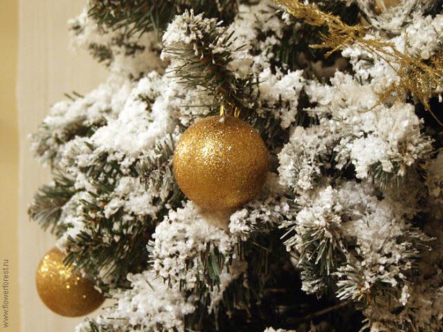 Снег своими руками на елку