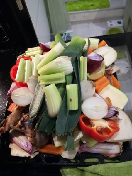 демигляс овощи