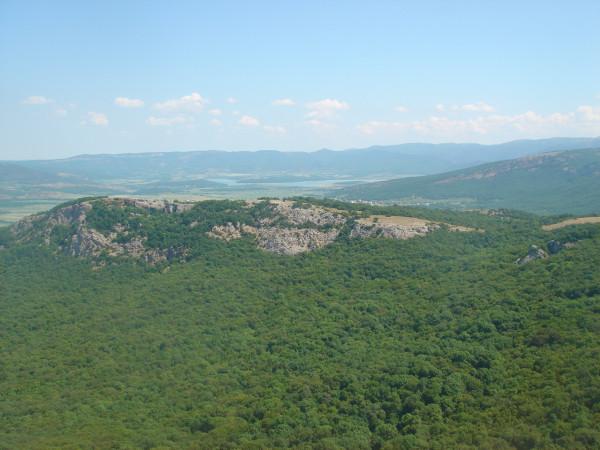 11 Байдарская долина с вершины Ильяс-Кая