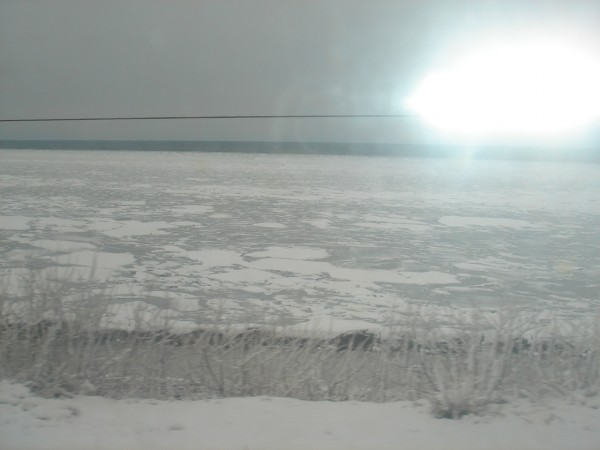 16 Лёд у берега Байкала